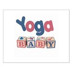 Yoga Baby #2 Small Poster