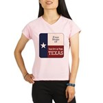 Free State of Texas Performance Dry T-Shirt