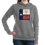 Free State of Texas Women's Hooded Sweatshirt