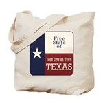 Free State of Texas Tote Bag