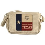 Free State of Texas Messenger Bag