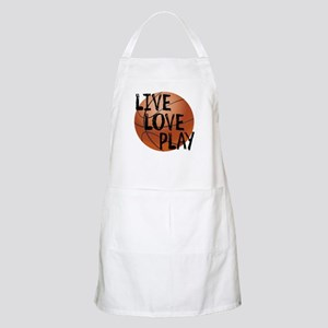 Live, Love, Play - Basketball Apron