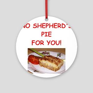 shepherds pie Ornament (Round)