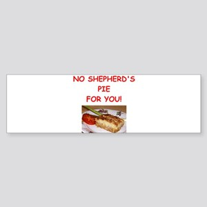 shepherds pie Bumper Sticker