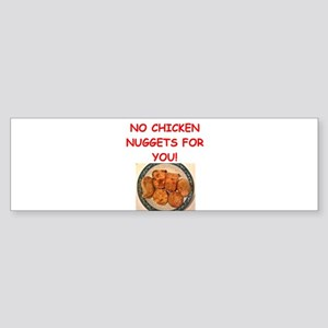 chicken nuggets Bumper Sticker