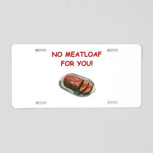 meatloaf Aluminum License Plate