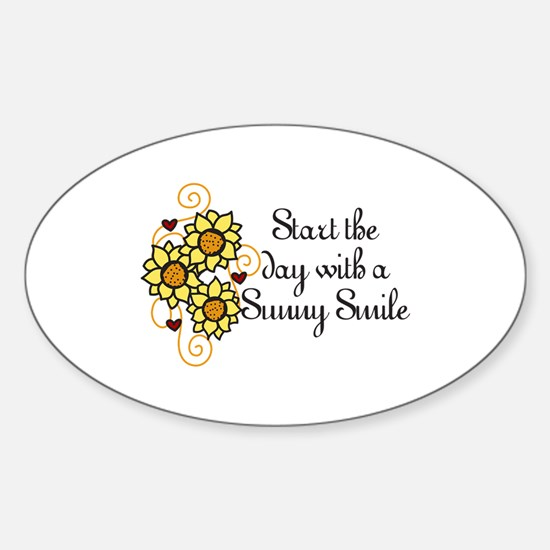 Start The Day Decal