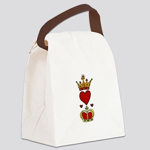 Crowns Canvas Lunch Bag