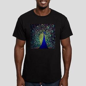 Cobalt Blue Peacock T-Shirt