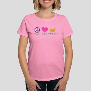 Peace love Pharmacy Women's Classic T-Shirt