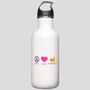 Peace love Pharmacy Stainless Water Bottle 1.0L