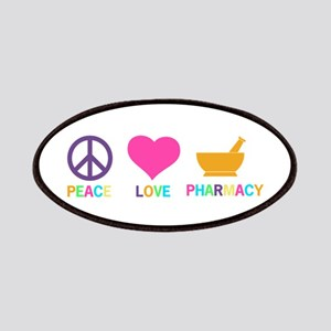 Peace love Pharmacy Patch