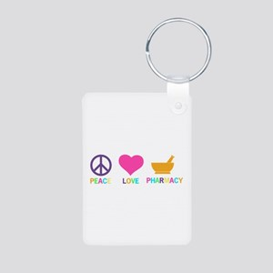 Keep Calm and Take a Chill Aluminum Photo Keychain