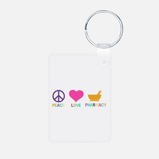 Keep Calm and Take a Chill Keychains