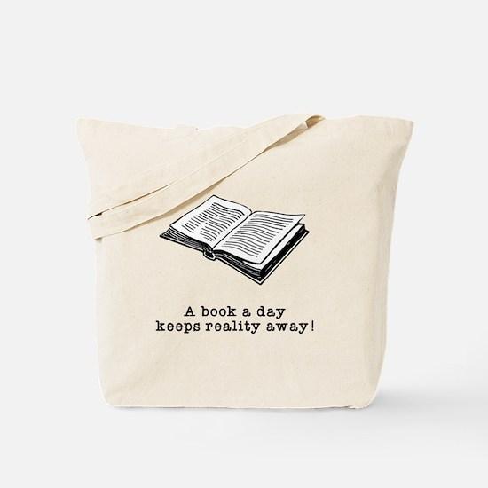 Book a day Tote Bag