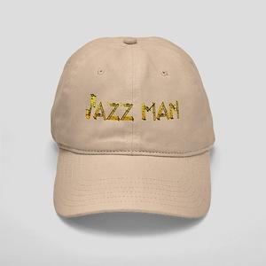 Jazz man sax saxophone Cap