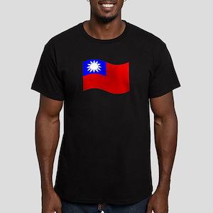 Waving Taiwan Flag T-Shirt