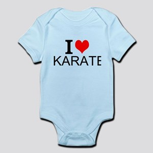 I Love Karate Body Suit