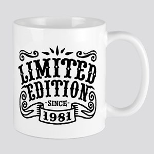 Limited Edition Since 1981 Mug