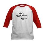 Hokusai Wave Kids Baseball Jersey