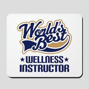 Wellness instructor Mousepad