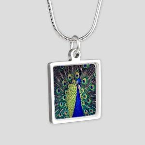 Cobalt Blue Peacock Necklaces