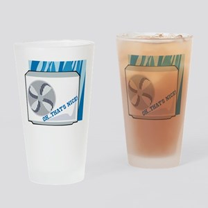 Air Conditioning Appreciation Days Drinking Glass