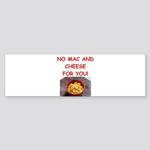 macaroni and cheese Bumper Sticker