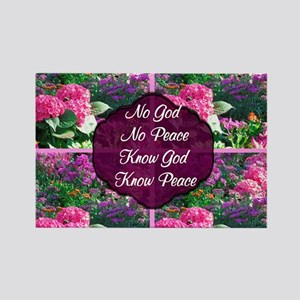 GOD IS PEACE Rectangle Magnet