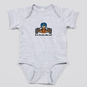 Flat Out Baby Bodysuit