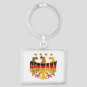 Germany four Star Champions Landscape Keychain
