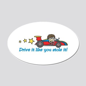 Drive It! Wall Decal