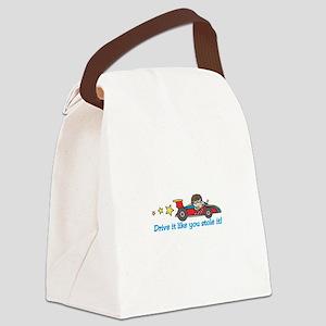 Drive It! Canvas Lunch Bag