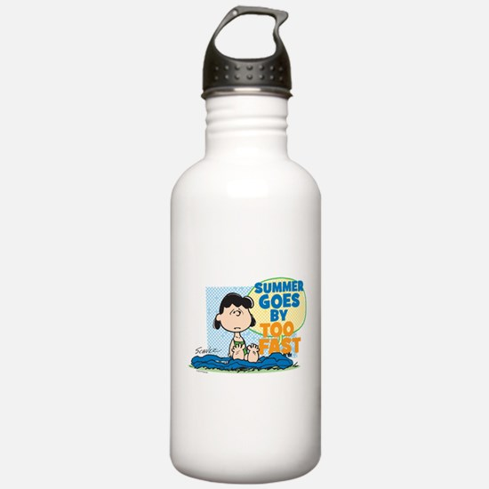 The Peanuts: Summer Go Water Bottle
