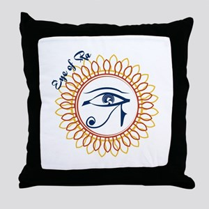 Eye Of Ra Throw Pillow