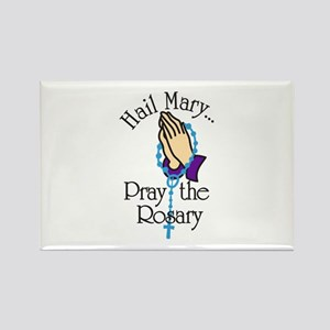 Pray The Rosary Magnets
