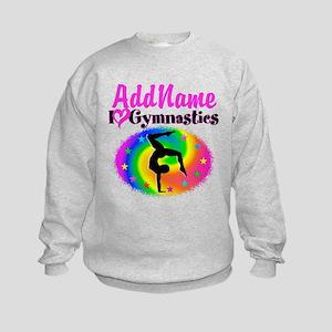 GYMNAST STAR Kids Sweatshirt