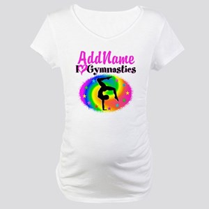 GYMNAST STAR Maternity T-Shirt