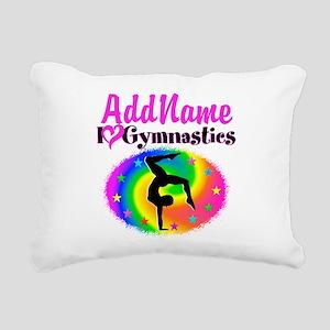 GYMNAST STAR Rectangular Canvas Pillow