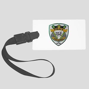 Waterbury Police Pipes Drums Luggage Tag