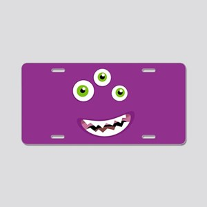 Purple People Eater Aluminum License Plate
