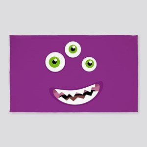 Purple People Eater 3'x5' Area Rug