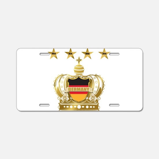Germany four Star Champions Aluminum License Plate