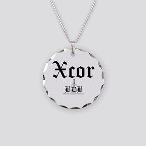 Xcor Necklace Circle Charm