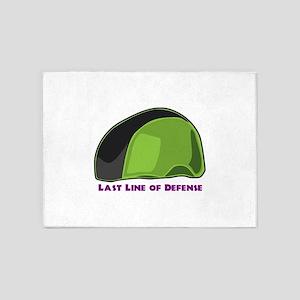 Last Line Of Defense 5'x7'Area Rug