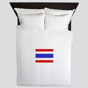 Thailand Flag Queen Duvet