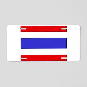 Thailand Flag Aluminum License Plate