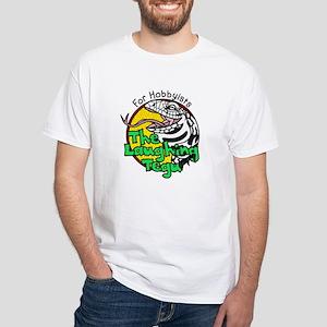 The Laughing Tegu Men's White T-Shirt