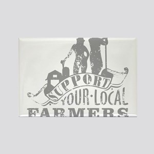 Support Your Local Farmers Magnets