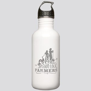 Support Your Local Farmers Water Bottle
